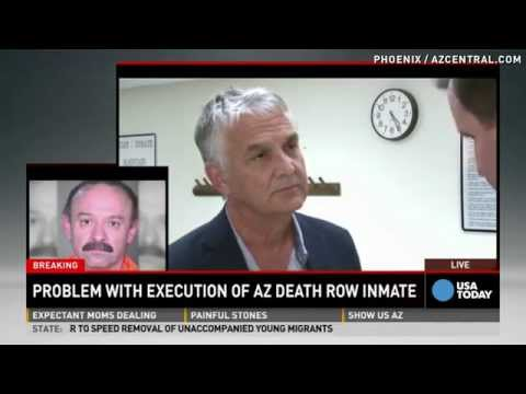 Witness describes botched Arizona inmate execution