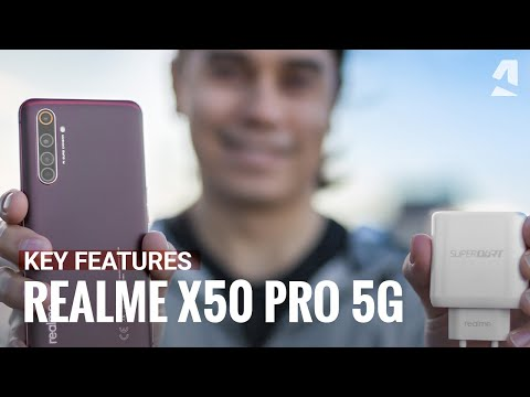 Realme X50 Pro 5G hands-on and key features