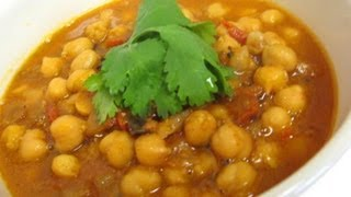 Curry Channa And Aloo (chick Peas And Potato).