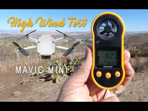 MAVIC Mini Wind Test - REAL TEST In High Winds - ALMOST LOST IT!
