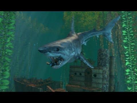 Feeding Time For JAWS Shark NPC Showcase Garry's Mod