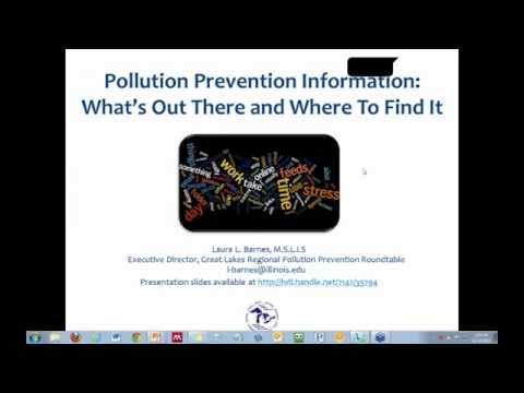 Pollution Prevention Information: What's Out There and Where to Find It