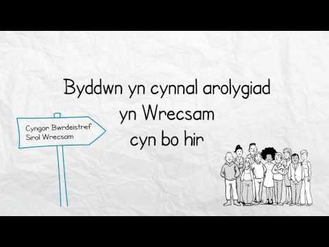 Ein harolygiadau awdurdod lleol newydd-Cyngor Bwrdeistref Sirol Wrecsam