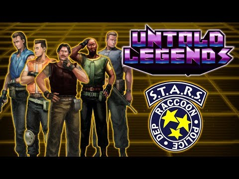 Resident Evil: The Lost Heroes Of S.T.A.R.S. Bravo Team - Untold Legends
