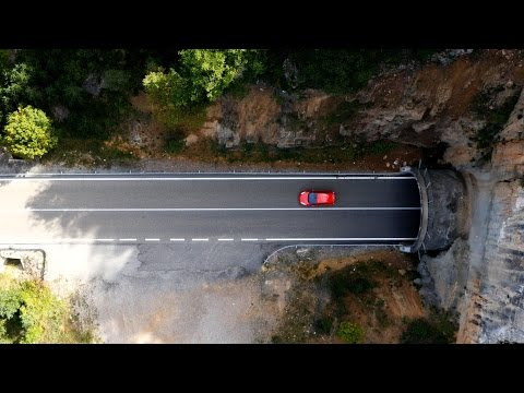 Ford Fiesta ST Drives on the Stunning C462 through Catalonia