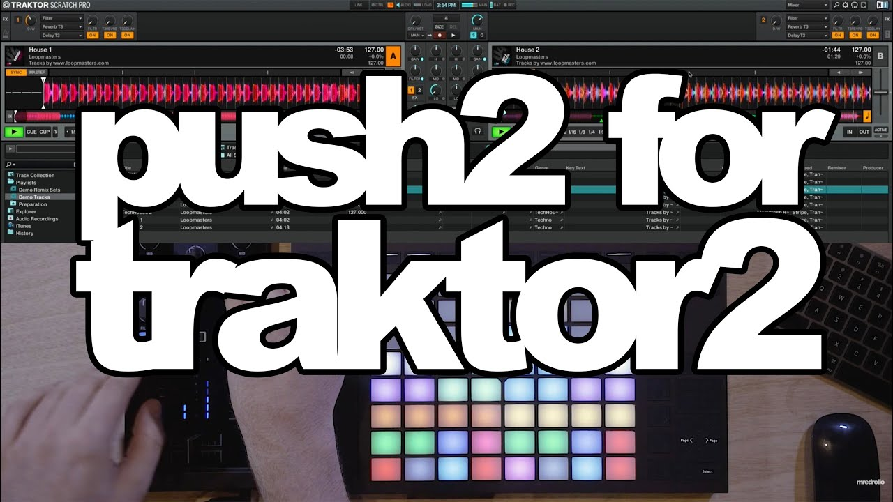 Ableton push 2 user mode traktor pro display download