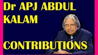 dr apj abdul kalam death contribution achievements