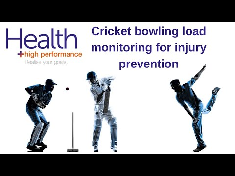 Cricket bowling load monitoring for injury prevention | Melbourne Sports Chiropractor