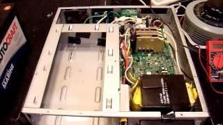 APC Smart UPS Sync to Mains Demonstration