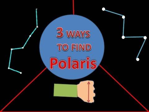 How to find Polaris in the Night Sky - Aditya