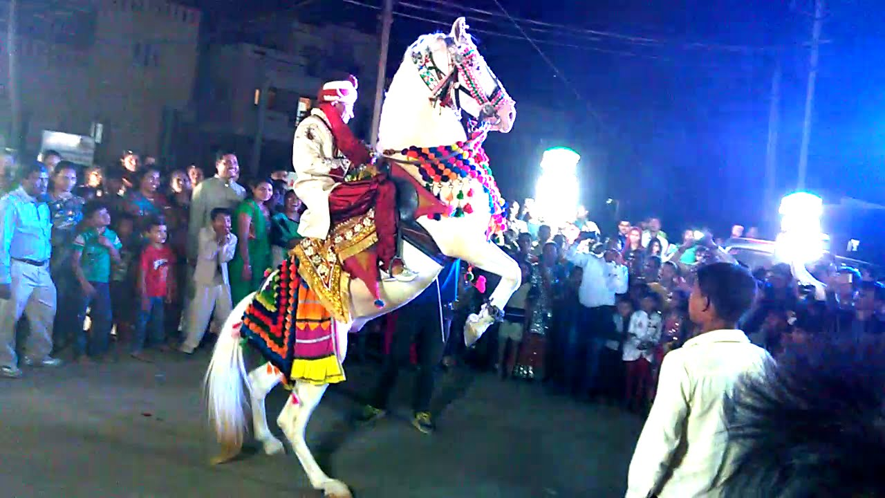 Muktsar india maghi mela punjab horse dance fair stock photo.