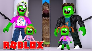 Zombie Roblox Family - France L'ascenseur normal