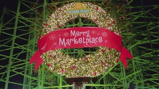 Merry Marketplace at Sesame Place