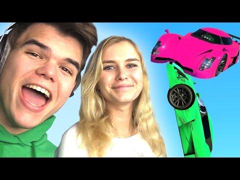 JELLY vs. GIRLFRIEND ON GTA 5! (GTA 5...
