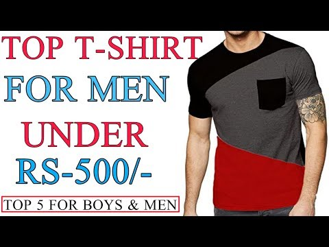 Top 5 Best T-shirt For Boys And Men