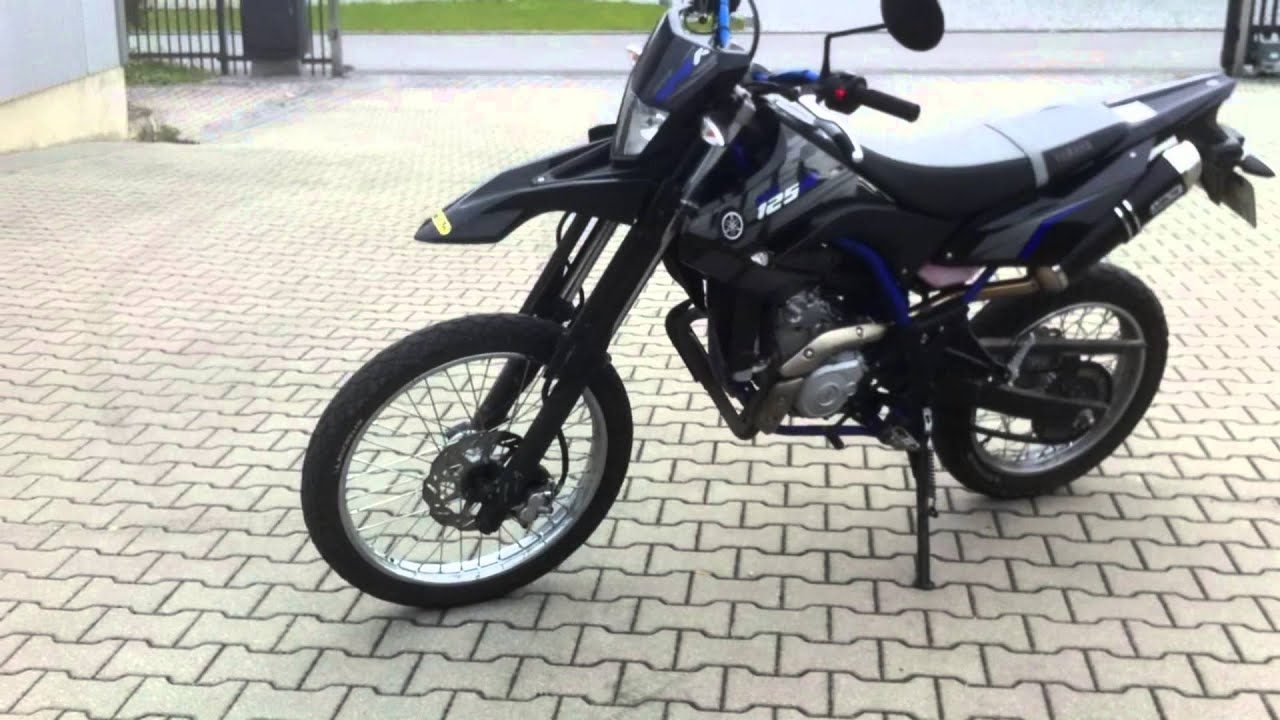 yamaha wr 125 r with arrow exhaust walk around and soundcheck youtube. Black Bedroom Furniture Sets. Home Design Ideas