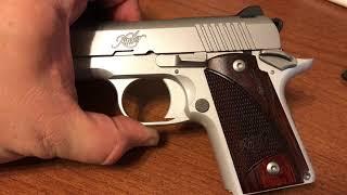 handgun grips wood kimber micro 9 Mp4 HD Video WapWon