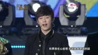 [繁中LIVE] 120119 Boyfriend - Don't Touch My Girl + I'll Be There(KBS 21st Seoul Music Awards)