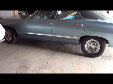 Christine Preston's 1967 Supernatural Impala Project 2-25-15
