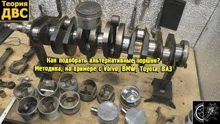 видео Поршень двигателя ВАЗ 21213 (82.0; 82.4 и 82.8) А, С и Е с пальцами 4шт.