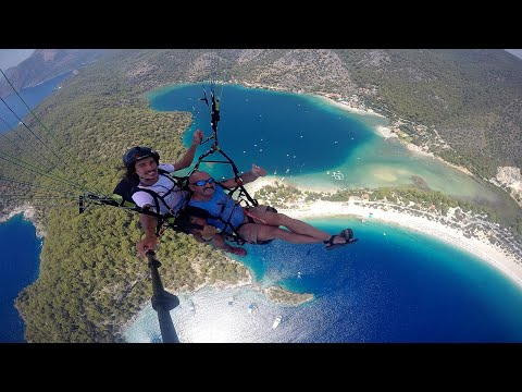 Paragliding Fethiye - Babadag Mugla - Turkey - 4K Ultra HD - 2160p - July - 2017