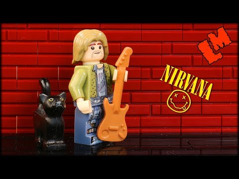 Lego Kurt Cobain and Nirvanaиз YouTube · Длительность: 4 мин7 с