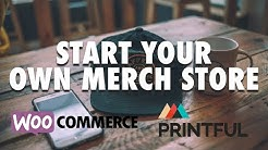 Printful + WooCommerce sell t-shirts & hats the easy way! Apparel drop shipping easy mode 💰