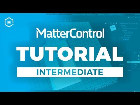 MatterControl 3D Printing Software Tutorial // Intermediate thumbnail