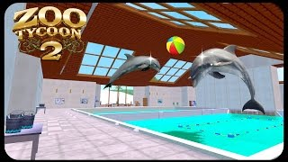 Dolphins Training Pools 🐬 | Sea World  | Zoo Tycoon 2 | Ultimate Collection Zoo Building