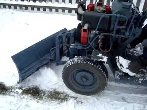 Самодельный трактор Отвал