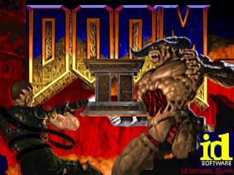DOOM II intro gameplay 1080p
