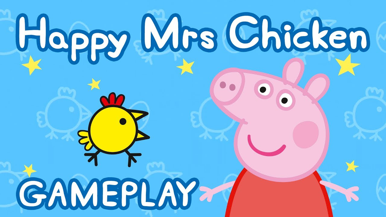 Peppa Pig – Happy Mrs Chicken gameplay (app demo)