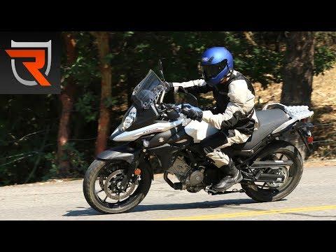2017 Suzuki V-Strom 650 First Test Review Video | Riders Domain
