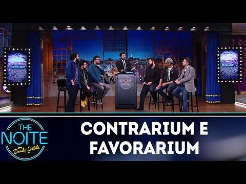 Contrarium e Favorarium: Hábitos brasileiros e Fake News   The Noite (13/06/18)