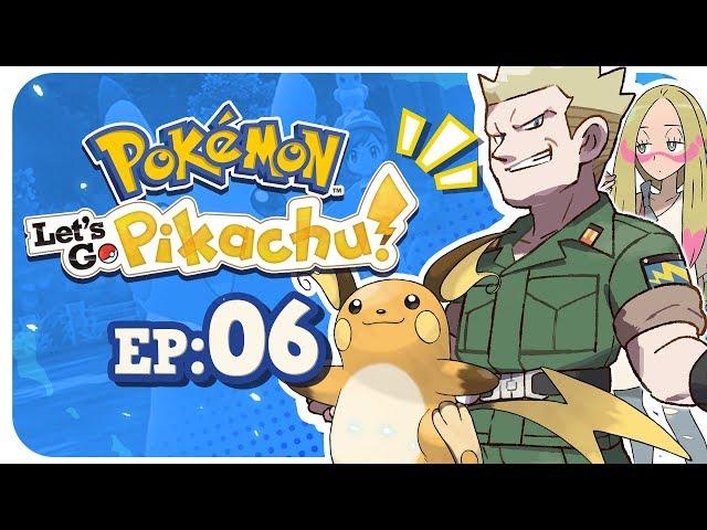IS THAT MINA FROM ALOLA!? - Pokemon Lets Go Pikachu: Part 6 Nintendo Switch Gameplay Walkthrough
