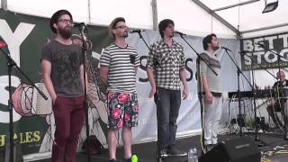 The Longest Johns - On The Railroad - Falmouth 2014