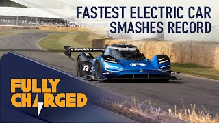 VW ID.R - The fastest car at Goodwood Festival of Speed   Fully Charged