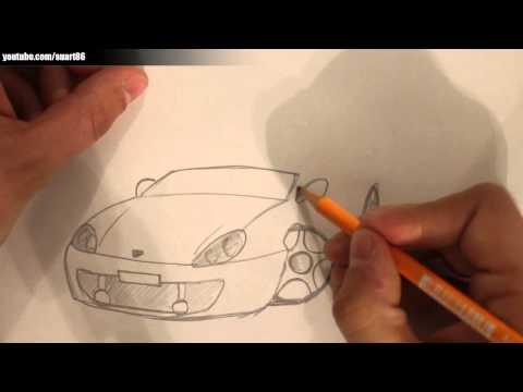 Wie zeichnet man ein auto