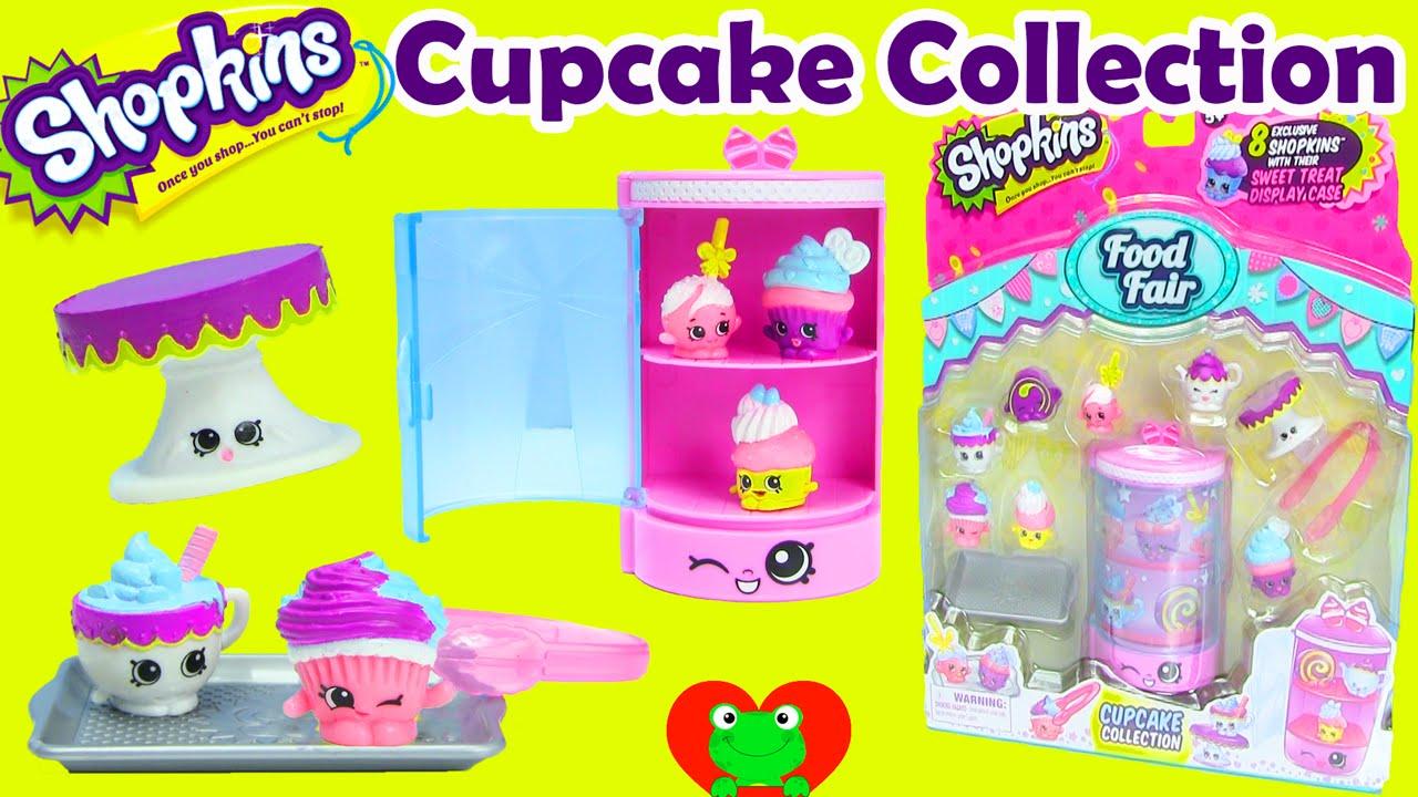 Shopkins Cupcake Collection Playset For Season 3 Food Fair