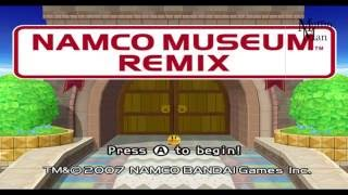 Namco Museum Wii Gameplay HD