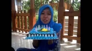 video ucapan selamat ulang tahun buat pacar :)