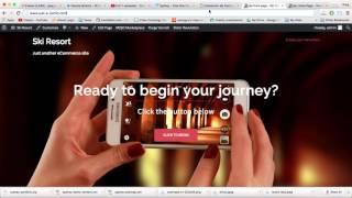 видео WordPress шаблон A La Mode