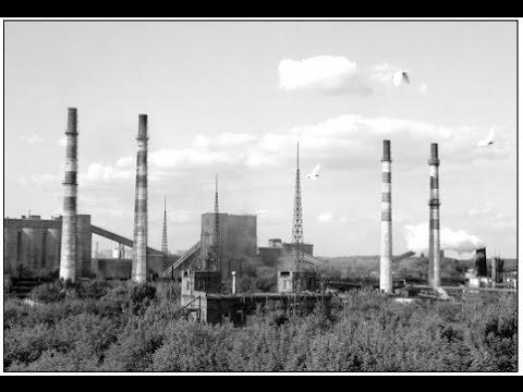 """г.Видное 1970 год """"Навстречу юбилею"""" Московский коксогазовый завод (МКГЗ)."""