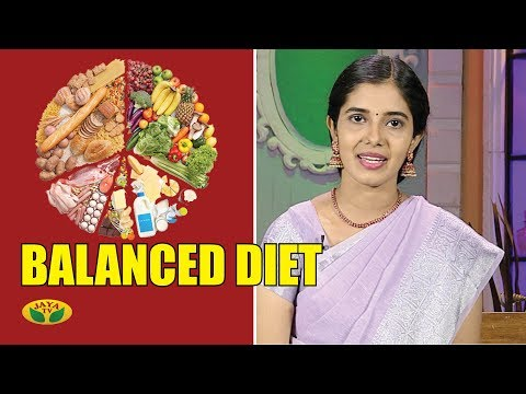 How to Maintain Balanced Diet | Nutrition Diary | Adupangarai | Jaya TV thumbnail