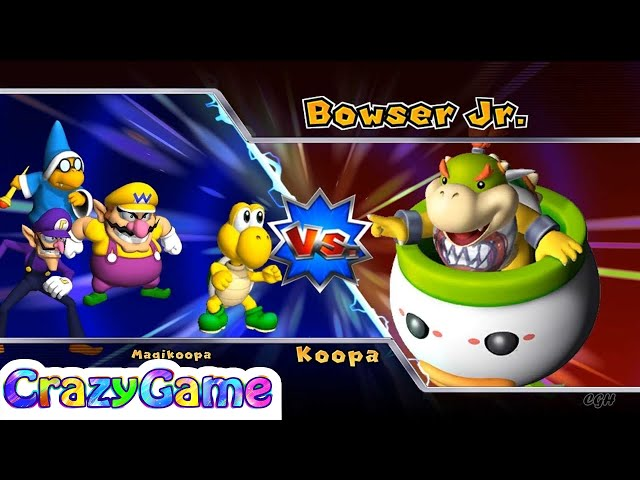 Mario Party 9 Bowser Station Party 48 Koopa Vs Kamek Vs Wario Vs