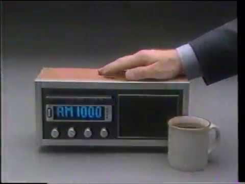 KOMO AM 1000  - Morning Radio TV Commercial  -  Larry Nelson (1984)