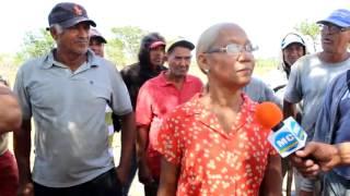 Campesinos culpan a bachatero Raulín Rodríguez de desalojo en su contra