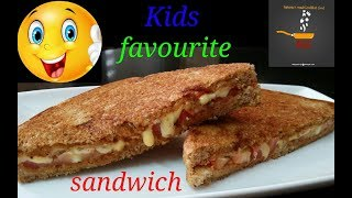 Sandwich Bananeka Sabse Asan Tarika/Easy & Quick Healthy Sandwich Recipe/Pan Sandwich/Kids Recipe