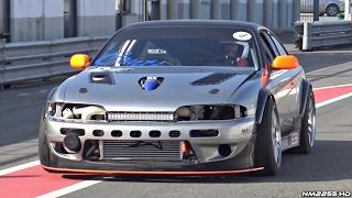 LM7 TURBO V8 Powered Nissan Silvia S14 Engine Swap!!