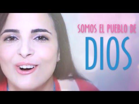 Ammi Shaddai (El Pueblo de Dios) - Video Lyrics - Mariel (@marielmusica)